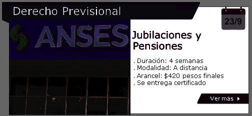 Jubilaciones y Pensiones | Capacitación Jurídica – Cursos On line para Abogados…