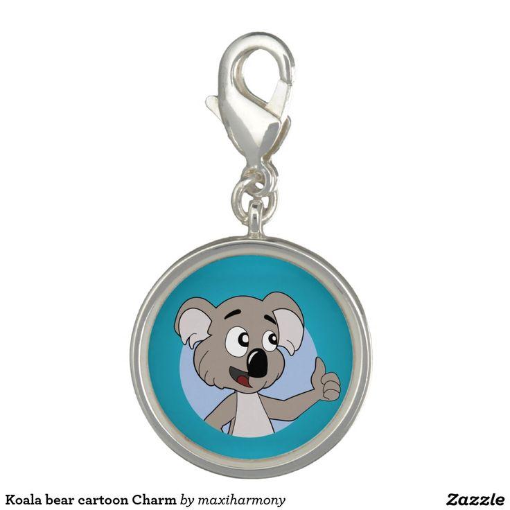 Koala bear cartoon Charm