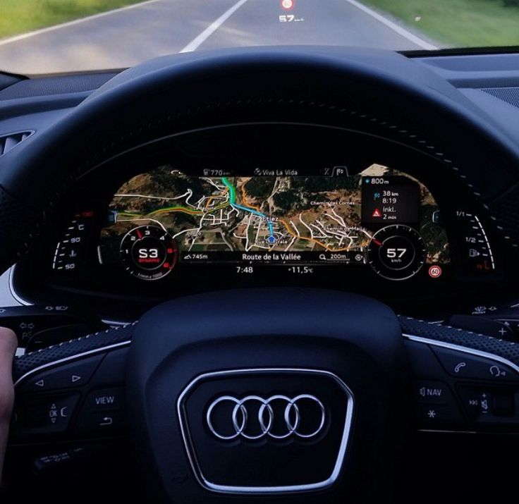 • The dashboard of the new Audi Q7 • Photo by Audi • Visit TuningCult.com For all Tuning Lovers •