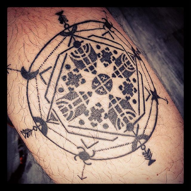 Mapuche | #tattoo #geometricTattoo #Design #graphicdesign #BodyArt #Mapuche #Chile