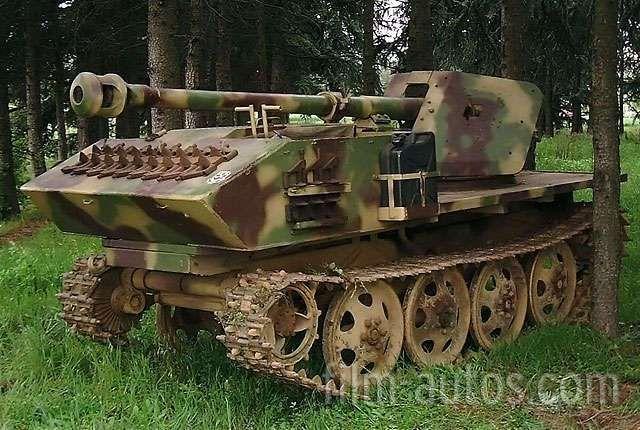 Steyr Panzerjäger RSO mit 7,5cm Pak Bild
