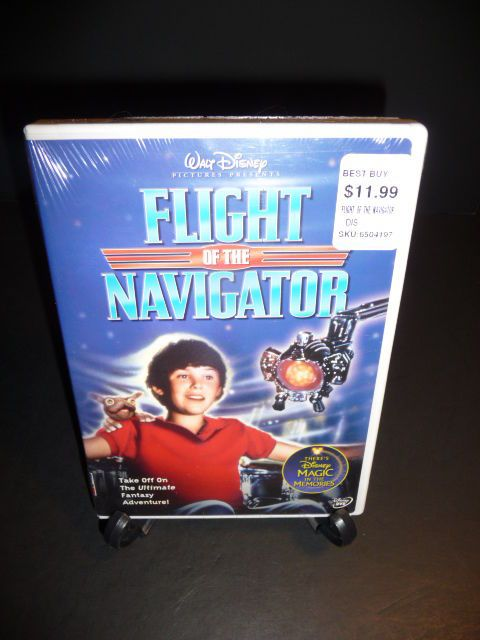 Flight of the Navigator (DVD, 2004) Disney   Joey Cramer  New Sealed