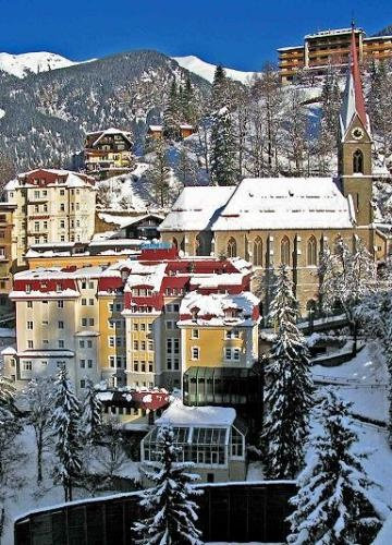 Bad Gastein, we visited here for a wedding, a lovely place. Had an amazing sleigh ride through the alps...Austria