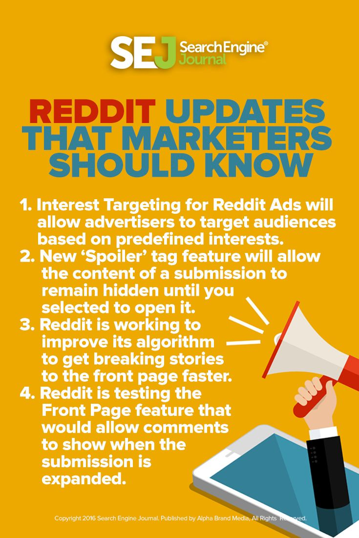 Reddit CEO Steve Huffman announced a handful of new things they are working on at Reddit.