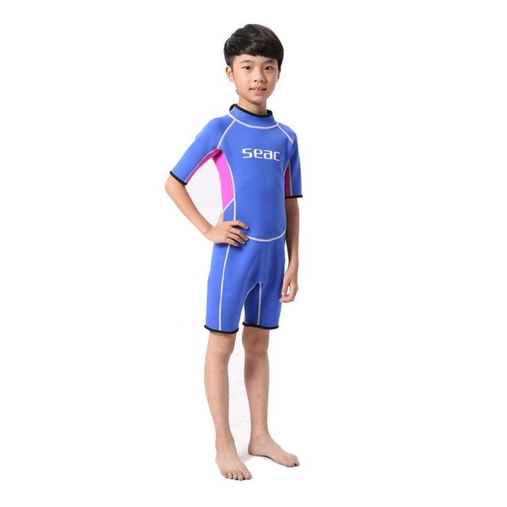 HISEA Diving Short-sleeved Children's Diving Suit #潜水服#Diving#Wetsuit#Traje de buceo#Дайвинг-костюм#Combinaison de plongée#Taucheranzug#moylor
