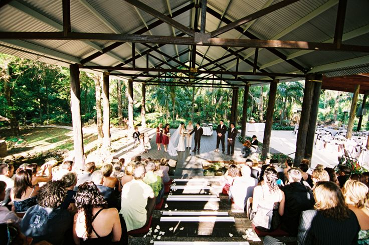 Wedding Ceremony Cedar Creek Lodges Mount Tamborine Gold Coast And Brisbane