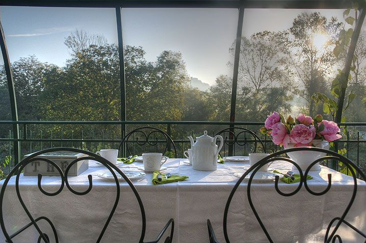 B&B Residenza Guglielmi Campobasso Terrazzo per colazione nelle giornate estive