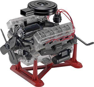 858883 1/4 Visible V-8 Engine Ets Hobby Shop