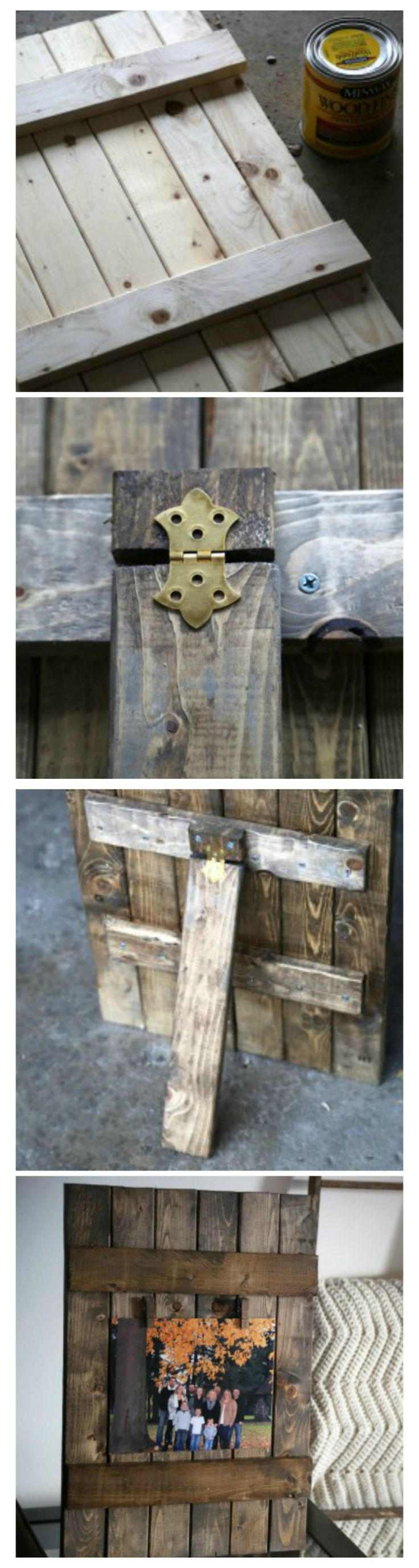 35 best collage images on pinterest art collages cut outs and easy do it yourself rustic wood frame solutioingenieria Images
