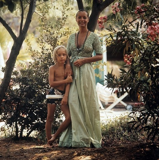 romy schneider and son david