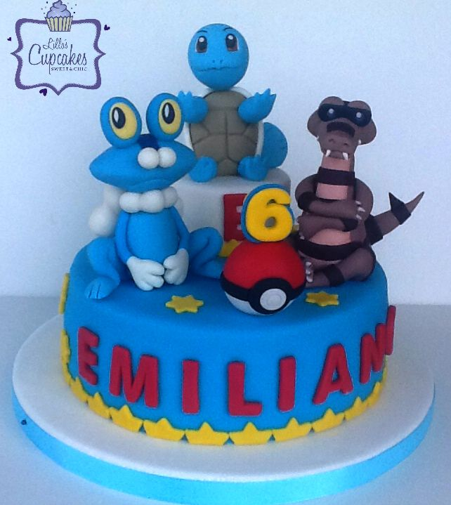 Pokemon Cake - Liliana Blanco