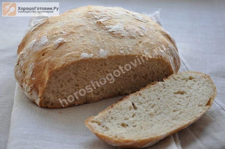 Пшенично-ржаной хлеб на закваске  Автор: Людмилa Семенюк