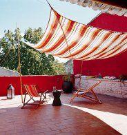 Donner des airs de tente à sa terrasse - Marie Claire Maison