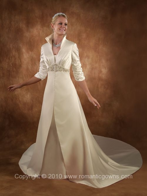 Copacabana Wedding Dress, I like this for an older bride. It's just lovely. ...   #wedding #gown #dress #bridal