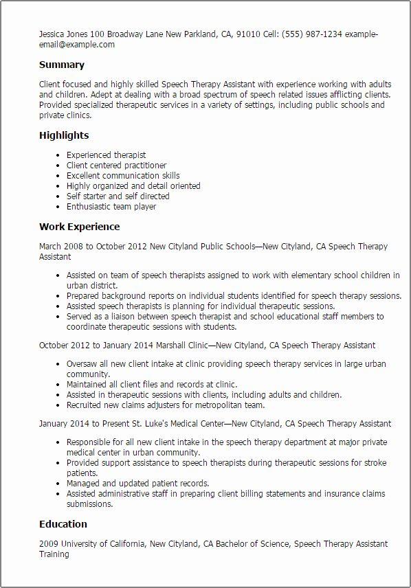 Agreement Letter Sample Speech And Language Speech Language Pathologists Resume Examples