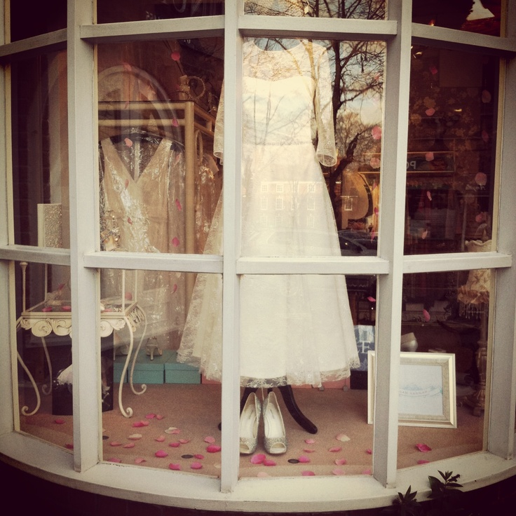 Our vintage inspired window