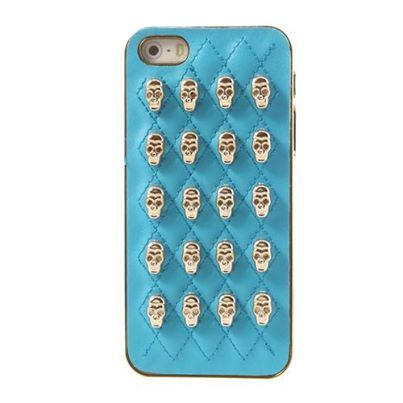 3D #Skulls Leather Skin for #iPhone5s/5