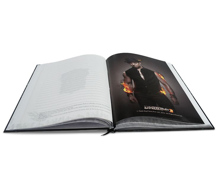 Dhoom 3 - 3 Subject Notebook, Inner