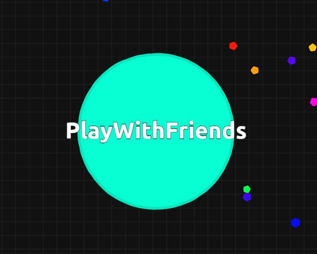 how to play agario with friends on ipad