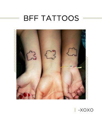 BFF Tattoos: Puzzling Behavior