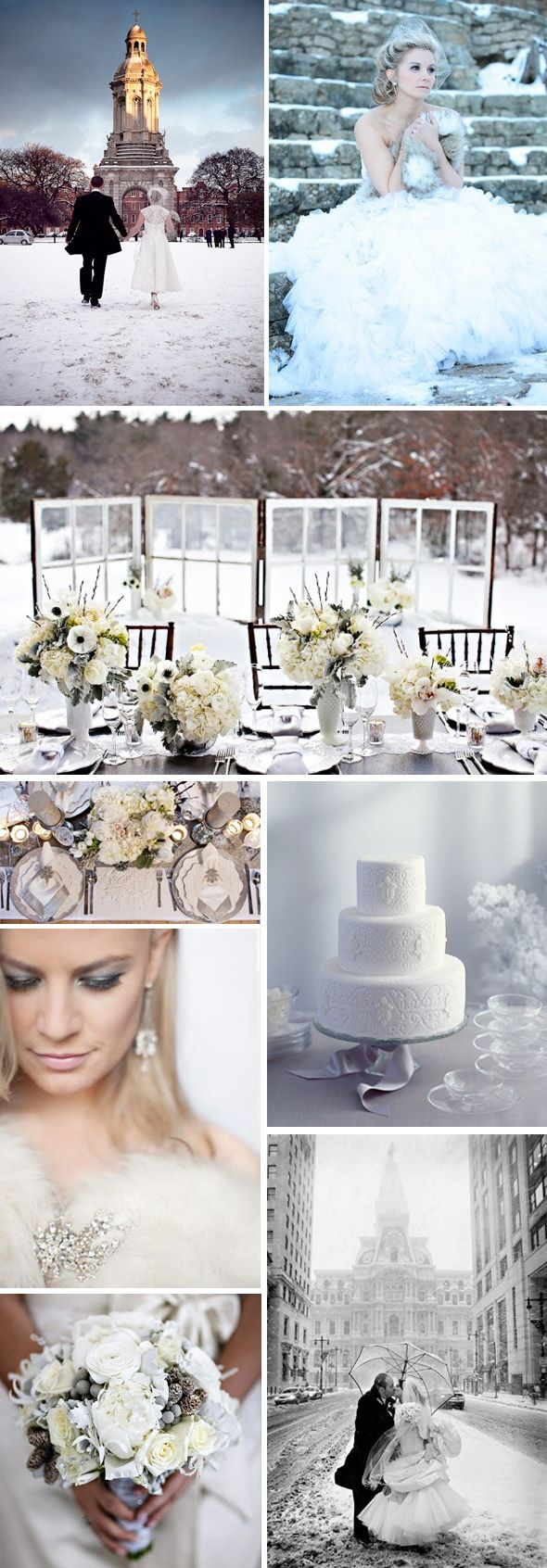 #Winter #Weddings