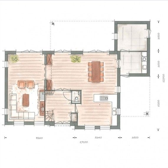 25 beste idee n over huis interieur op pinterest for Trap tekenen plattegrond