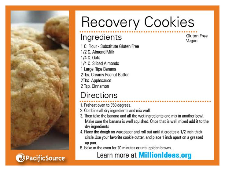 Recovery cookie? MUST try.