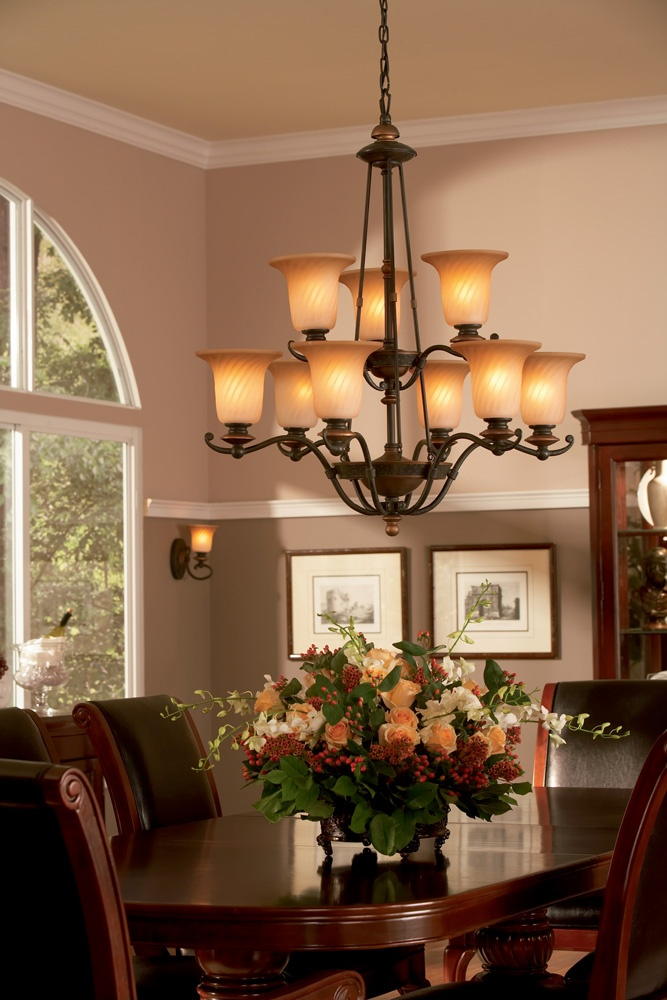 Genova Chandelier from Quoizel Lighting