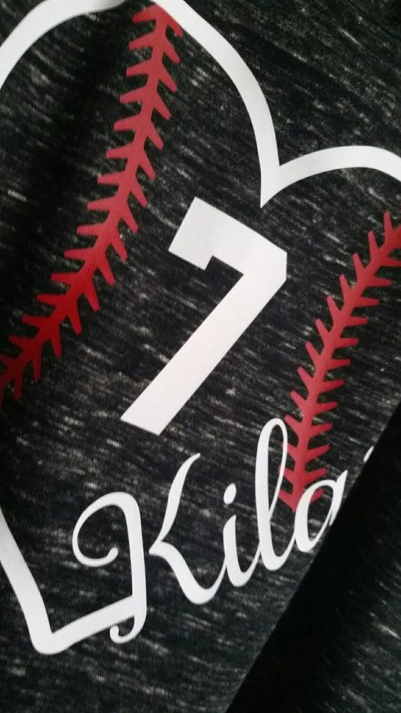 NEW tank top style baseball spirit wear by YoureSuchATees on Etsy