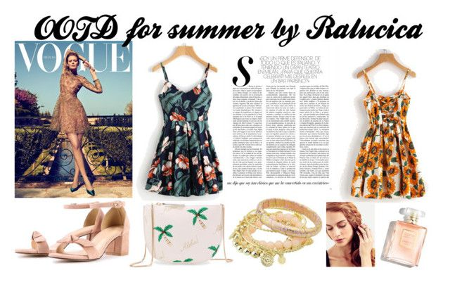 OOTD for Summer 2017 with  Shein by ralucica-andreea on Polyvore