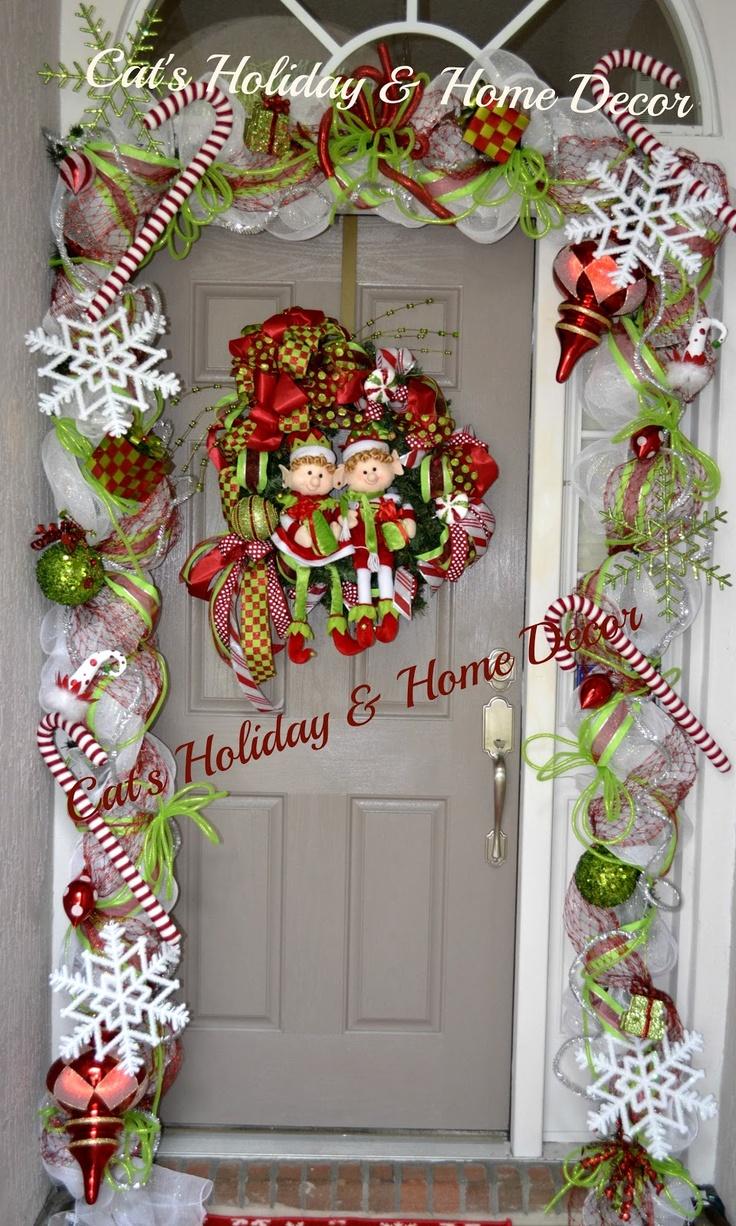 Catu0027s Holiday u0026 Home Decor Christmas Door