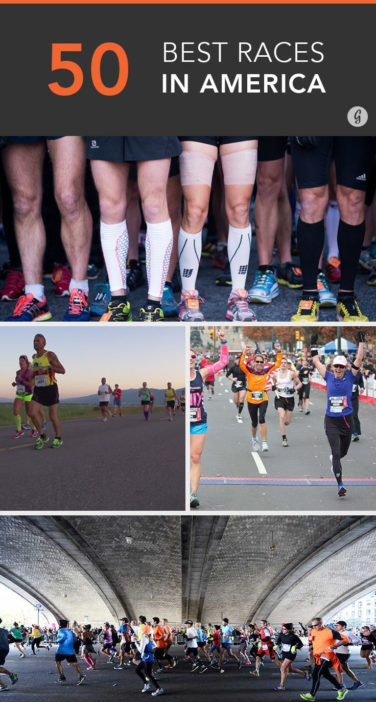 The 50 Best Races in America...the Georgia one, the Peachtree race, signed up and training for that bad boy!! :D