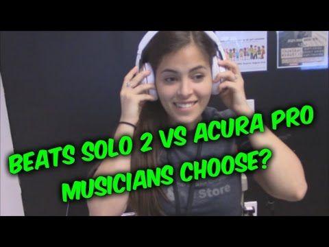 Beats Solo 2 wireless by Dre headphones VS Acura Pro bluetooth headset r...