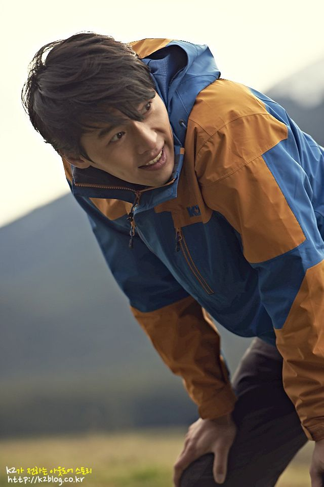 Hyun Bin Energizes Outdoors For K2′s F/W 2013 Campaign : Couch Kimchi