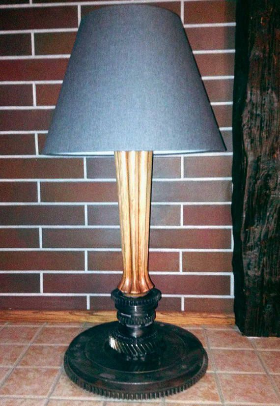 Industrial Lamp Shade. Steampunk Ligting