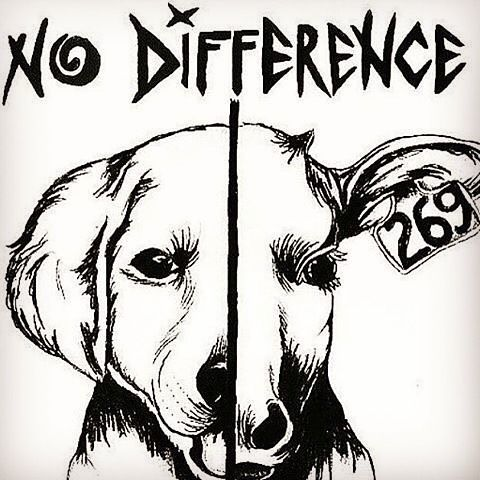 No difference! GO VEGAN