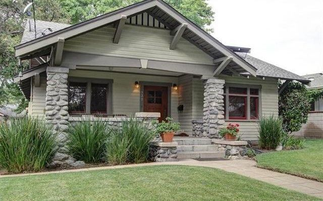 Pasadena bungalow home cottage neighborhood i still - What is a bungalow style home ...