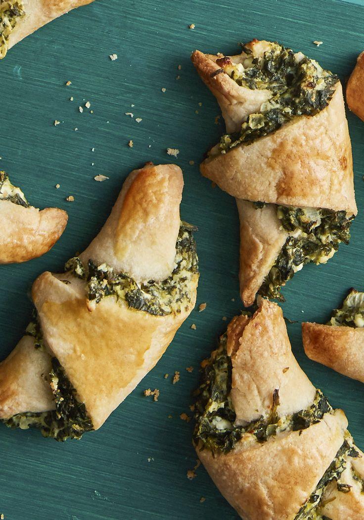 Spinach and Feta Rugelach Recipe