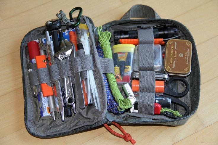 Every Day Carry: a small collection of tools, equipment and supplies that are carried on a daily basis to assist in tackling situations ranging from the mundane to the disastrous.