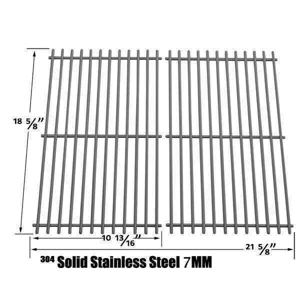STAINLESS COOKING GRATES FOR CUISINART 85-3030-8, C560S G41208 GAS GRILL MODELS Fits Compatible CUISINART Models : 85-3030-8 , C560S , G41208 Read More @http://www.grillpartszone.com/shopexd.asp?id=35901&sid=20727