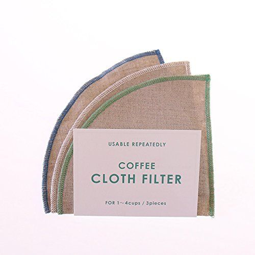 IFNi ROASTING Linen Coffee Filters for 1-4 cups 3pcs (Blue/White/Green) ** More details @ http://www.amazon.com/gp/product/B01DIKE3GU/?tag=pincoffee-20&pwx=020716163314