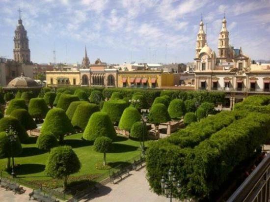 Jardin del centro leon gto mx ciudades para vacacionar for El jardin leon