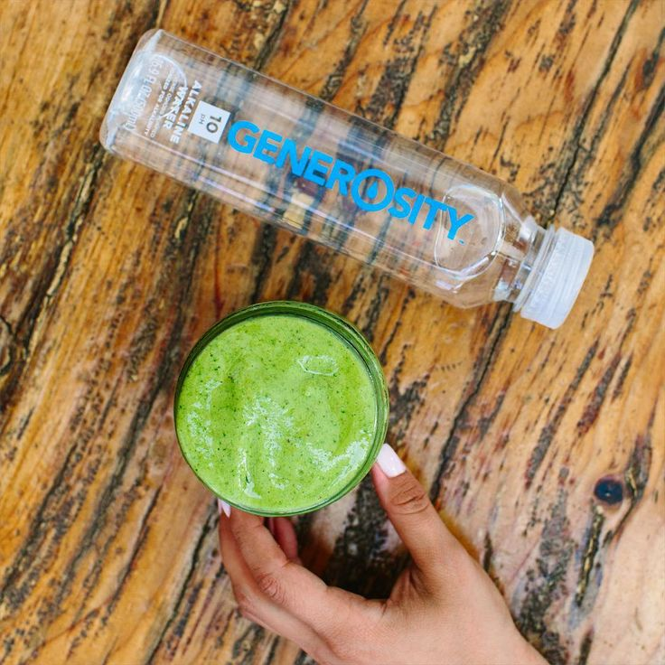 Drinking alkalized water helps neutralize acids and restore health. #GenerosityWater #DrinkGiveLive