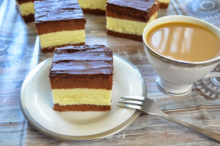 Aga w kuchni: Ciasto mleczna kanapka