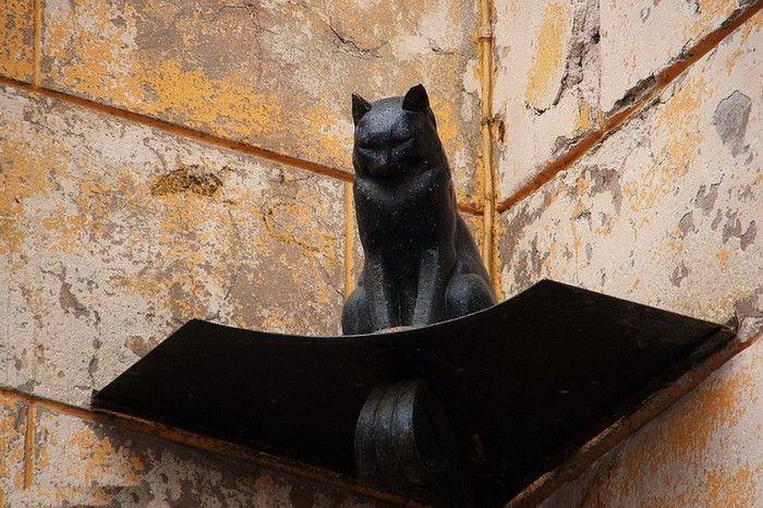 Памятник коту в Санкт-Петербурге