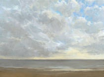 Silver Linings I  by Kim Coulter www.thornwoodgallery.com