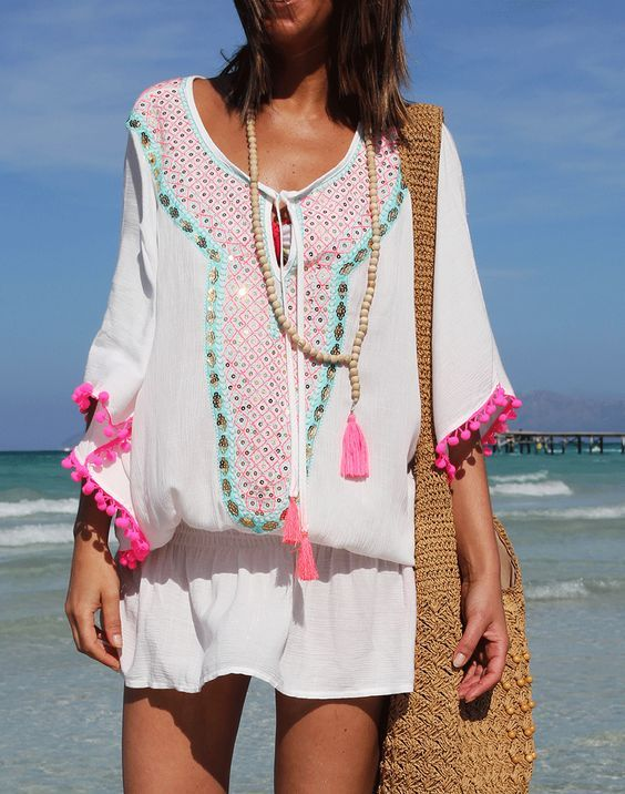 Beach chic cover up!