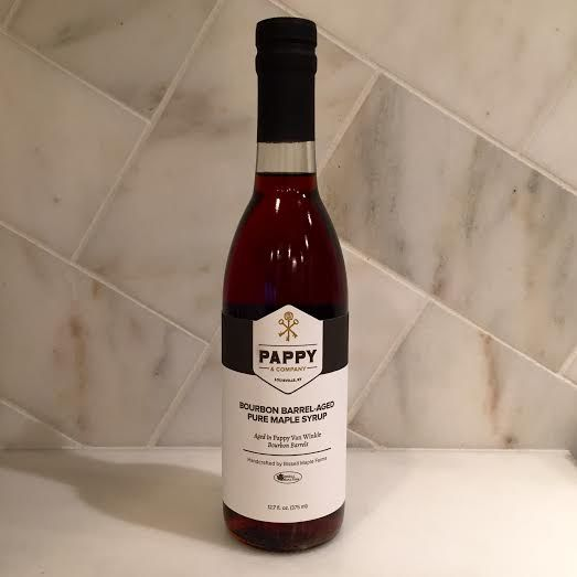 Barrel-Aged Pure Maple Syrup aged in Pappy Van Winkle Bourbon Barrels - Pappy