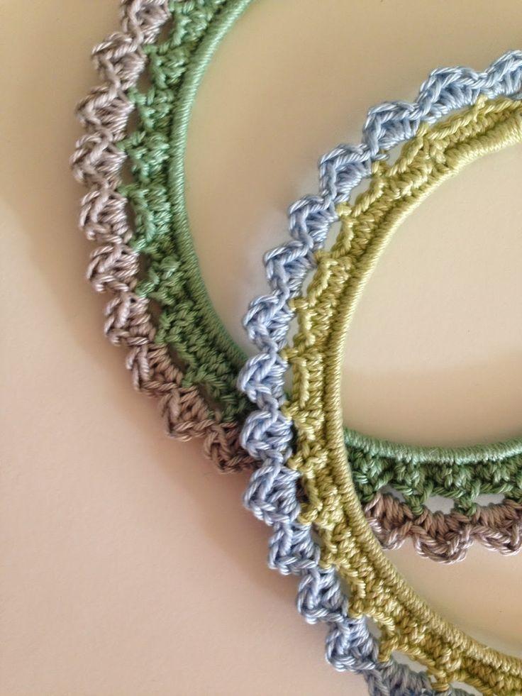 Crochet Photoframe - Tutorial ❥ thanks so xox