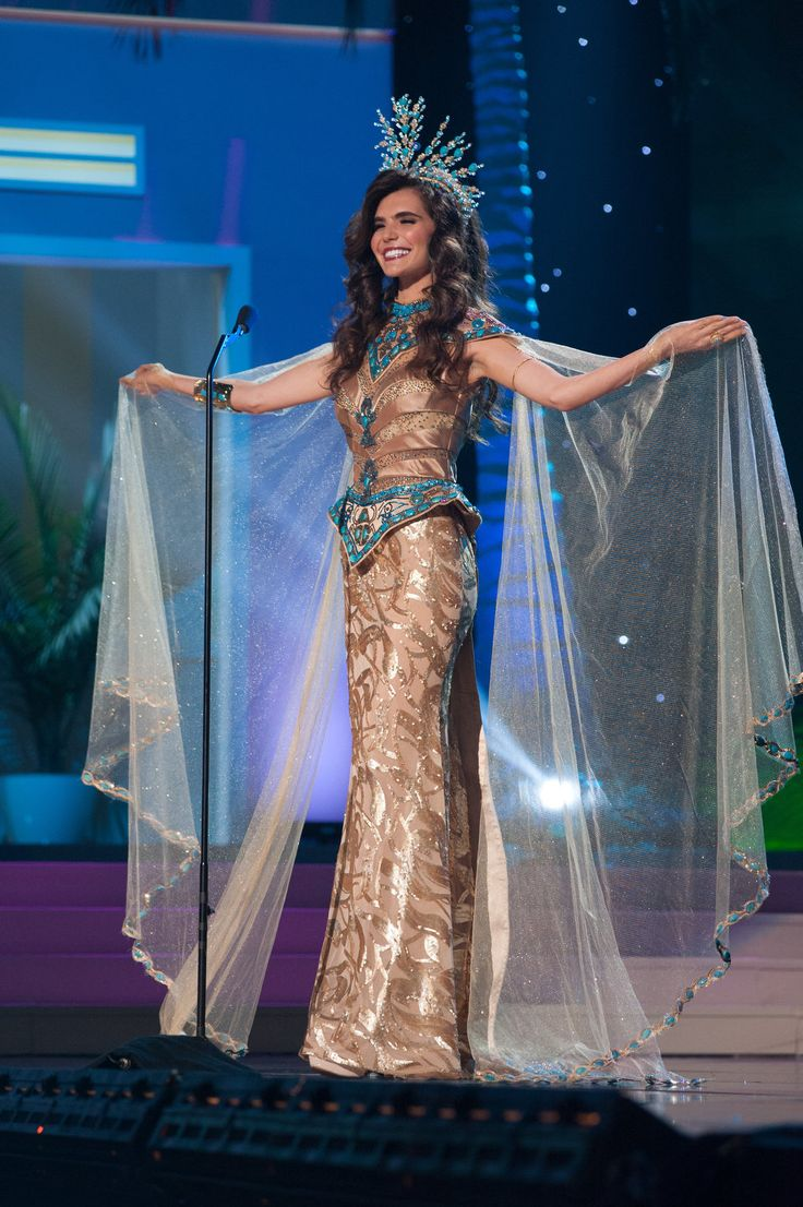 Egypt - National Costume Inspired By The Miss Universe 2015 Pageant